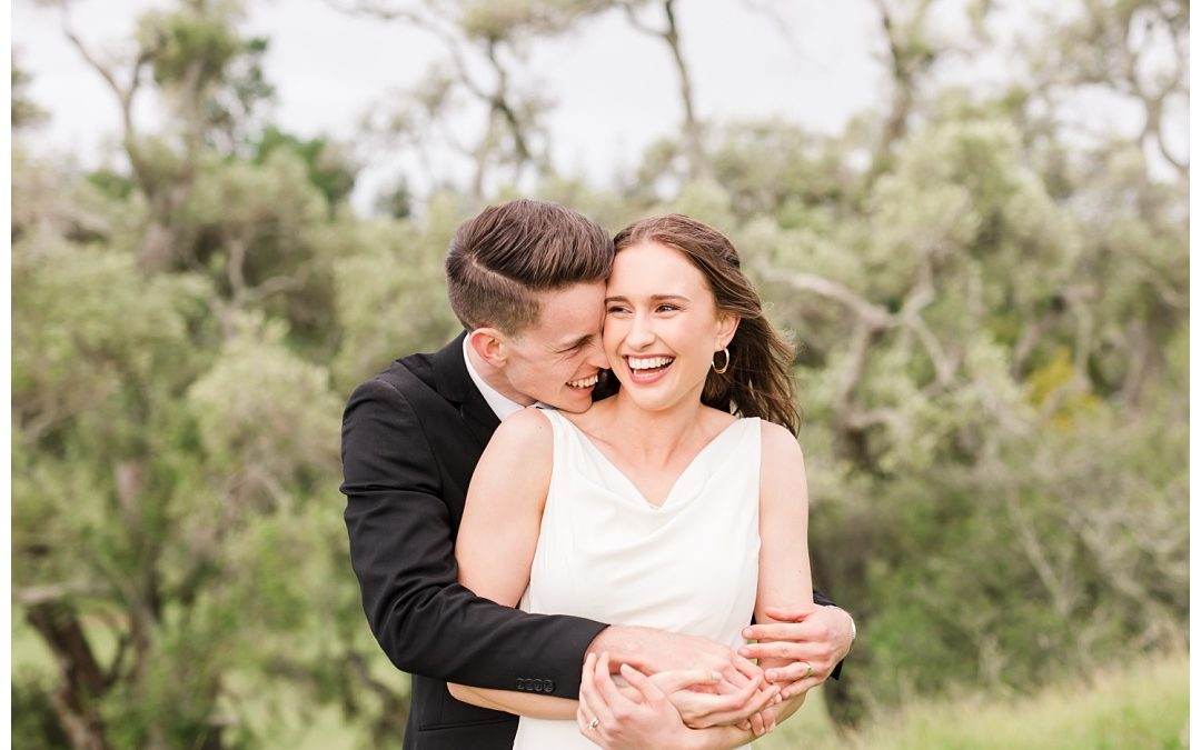 Ezra & Holly- Cornwall Park Wedding