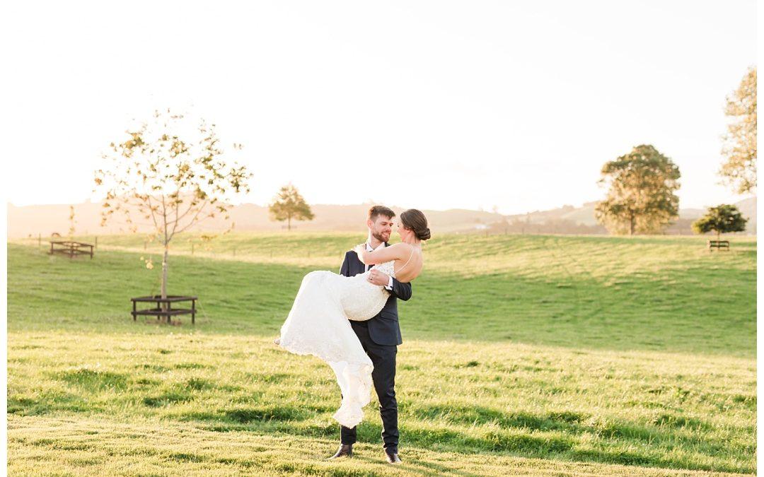 Rachel & Shane- Red Barn Wedding